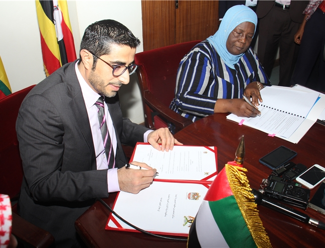 UAE and Uganda Sign a Memorandum of Understanding to Recruit Enterprises' and Domestic Workers