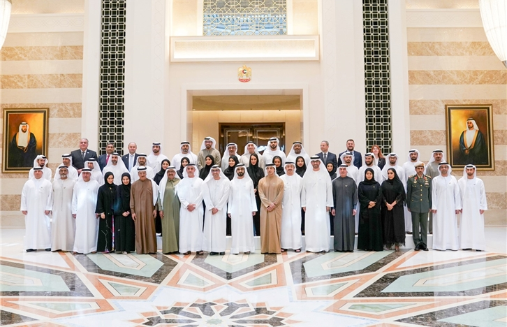 Mohammed bin Rashid honours winners of 2nd Emiratisation Award