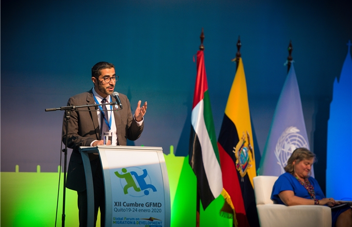 UAE Takes Over Presidency of Global Migration Summit from Ecuador