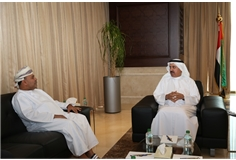 MOHRE Minister meeting with the Executive Office Director of the ILO 2016